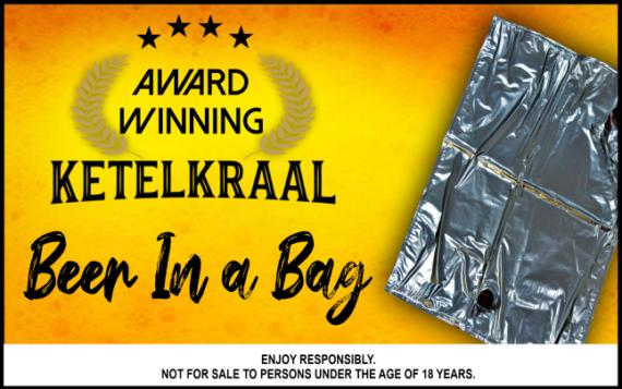 Ketelkraal Beer in a Bag