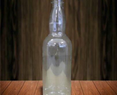 Transparent Plastic 1L Bottle